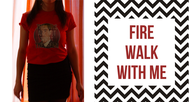 twin peaks t-shirt collection твин пикс